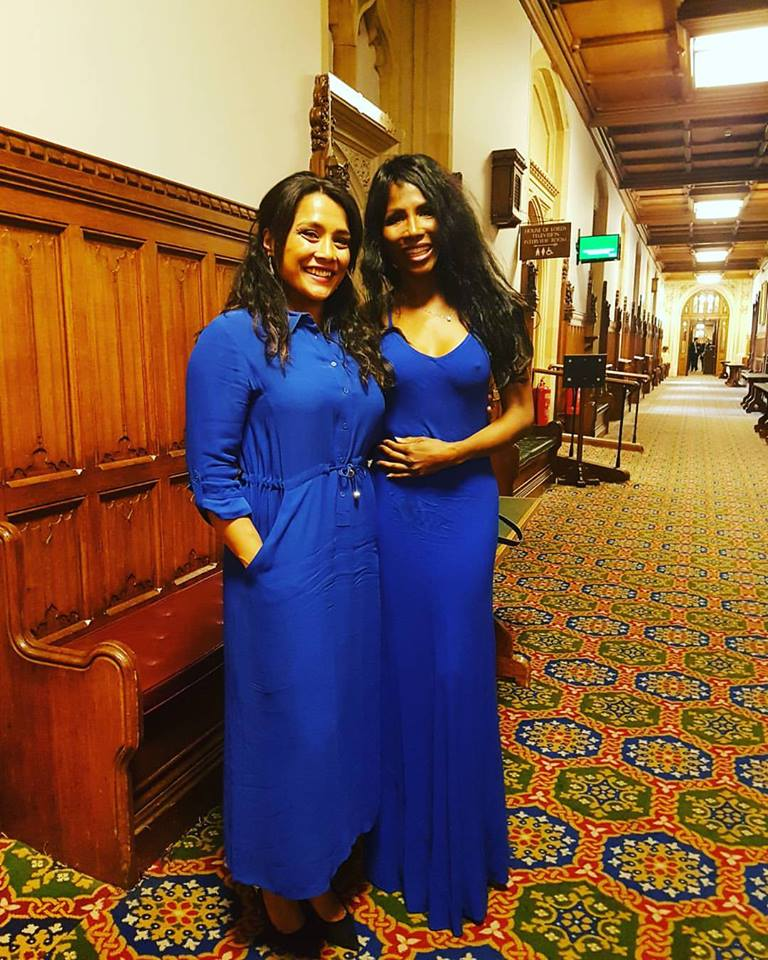 Presented with an award for Women of Excellence by the universal peace federation at the houses of parliament with Sinitta from the X-factor. A great highlight of my career being recognized for influencing followers to change their lifestyle.